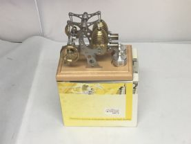 Pre Owned Bohm HB12 Stirling Engine. Meths fired